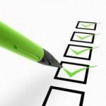 2013 Credit Checklist